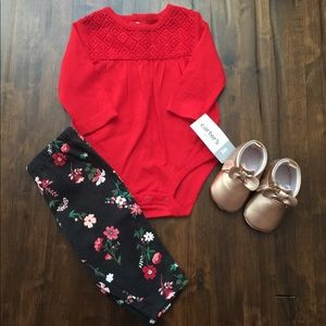 Carter's•Baby Girl 2pc Set•Size 3Mths🌟NWT